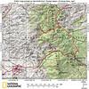 Trip map for Soldier Basin--O'maras Mine trek.