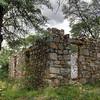 A stone house in ruins near the O'maras Mine.