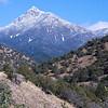 Mount Wrightson in Arizona's Santa Rita Mountain range.