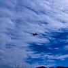 Air traffic.