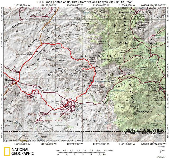 Paloma Canyon Trek.