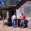 Ron and Jim at Juniper Flat.