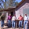 Dave, Jim, Ron, Jim and Dennis at Juniper Flat.