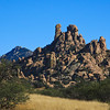 Rock formations in the Dragoon Mountains of Arizona.  Cochise had a stronghold in this mountain chain.