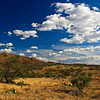 A grand Arizona sky and the Cerro Colorado Mountains taken near Las Guijas Wash and the Buenos Aires National Wildlife Refuge.