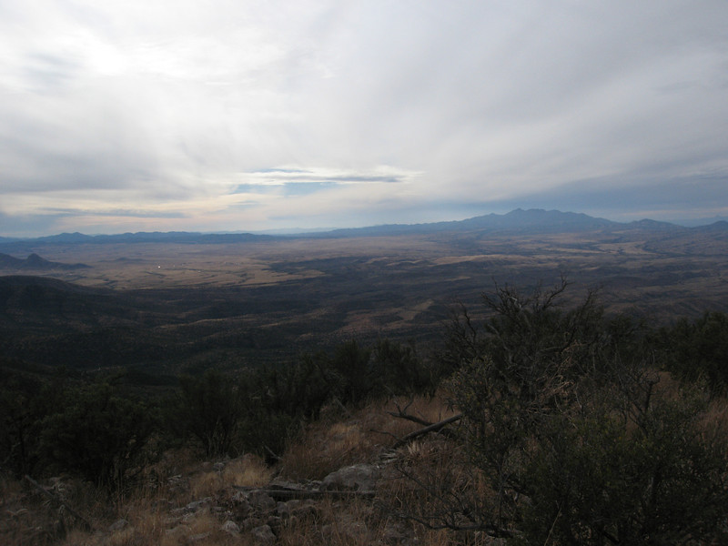 Sonoita and Mt. Wrightson to the southwest.