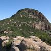 Atascosa Peak from the ridgeline.