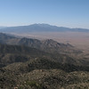 View south to the Hualapai Mtns.