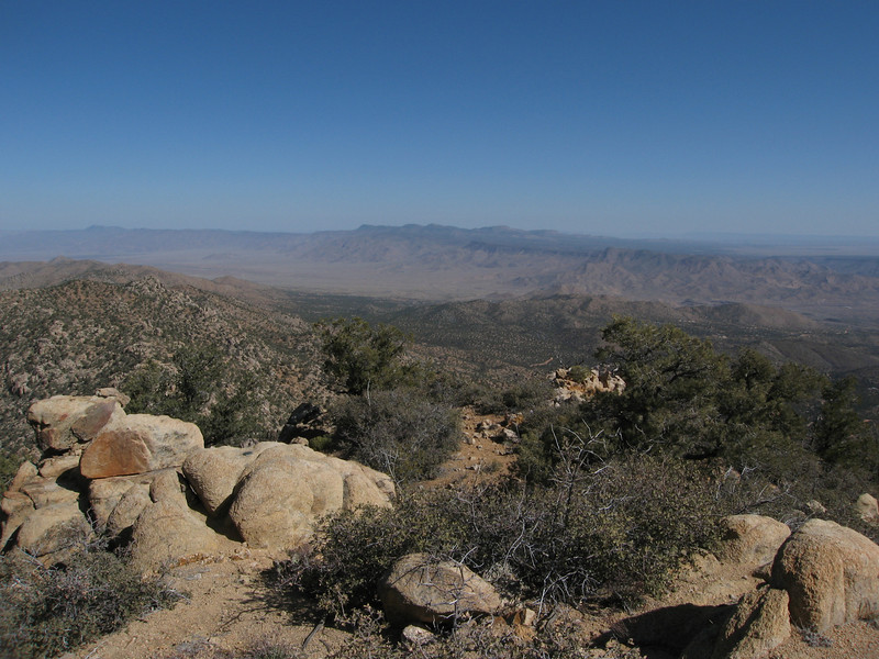 View north to the Music Mtns.