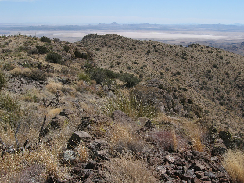 View east into New Mexico.