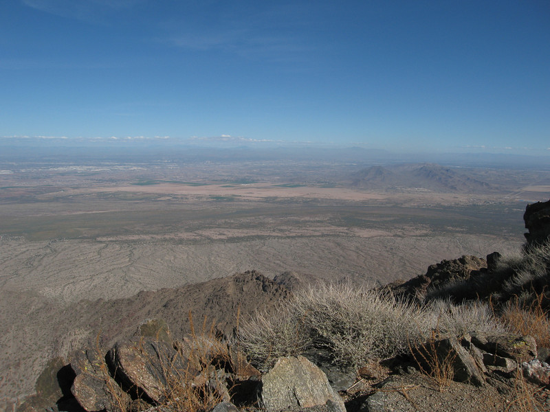 The Valley of the Sun to the northeast.