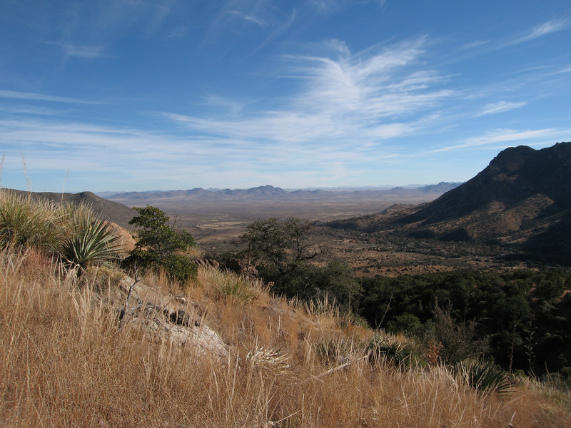 View northeast into New Mexico.
