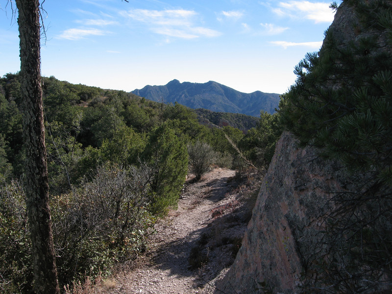 Another view of Portal Peak.