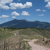 The San Francisco Peaks from Elden Mtn.
