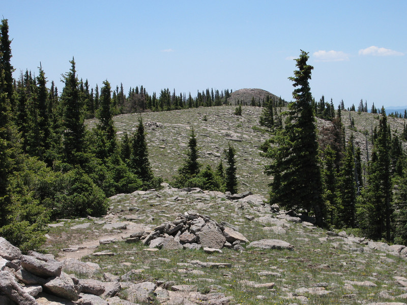 In the distance, Baldy Peak lies further south within the Fort Apache Indian Reservation.