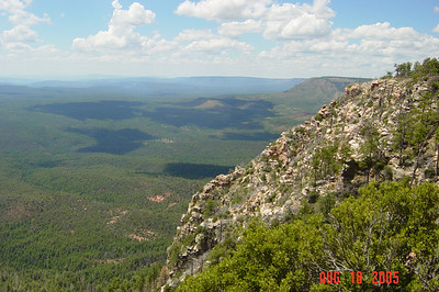 Gila County, Promontory Butte & Myrtle Point - Aug. 18, 2005
