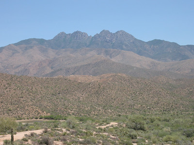 Maricopa County, Browns Peak - Nov. 5, 2005