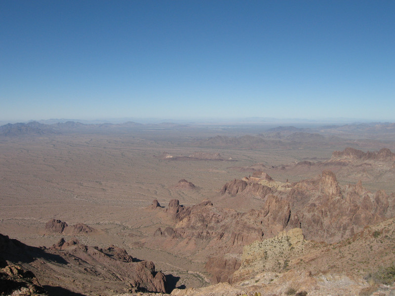 View to the northwest from Signal Peak.