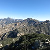 20 ft east of the highest rock, the forest opens up providing a superb view east to Mt. Lemmon, Cathedral Rock and Window Peak.