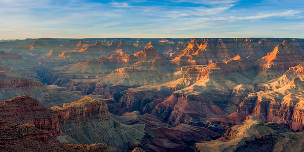 Grand Canyon Early Evening
