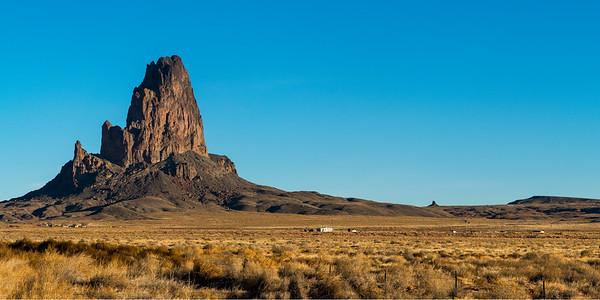 Church Rock in Arizona Late Morning
