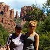 Cheri and Carly near Sedona