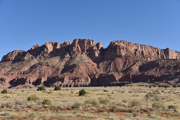 Along Arizona Highway 389