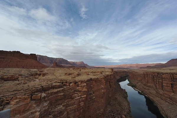 Marble Canyon and Navajo Bridges