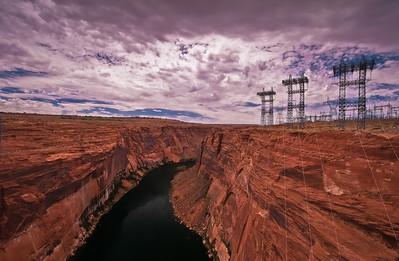 Glen Canyon Dam, Lake Powell AZ