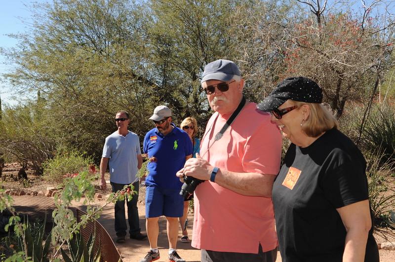 Mel and Judy at Desert Botanical Garden