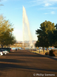 This is why it's called Fountain Hills