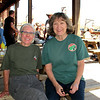 Jerrie and I ate out on the Saloon patio. Happened to be St. Patrick's Day, so I wore my Carlos O'Briens tshirt.