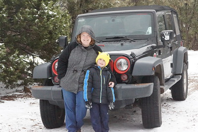 12-03-16 Carr Canyon Snow