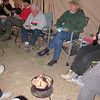 Rob's campfire in a can. What a lifesaver that was! Heated the entire tent plus offered us some ambiance.