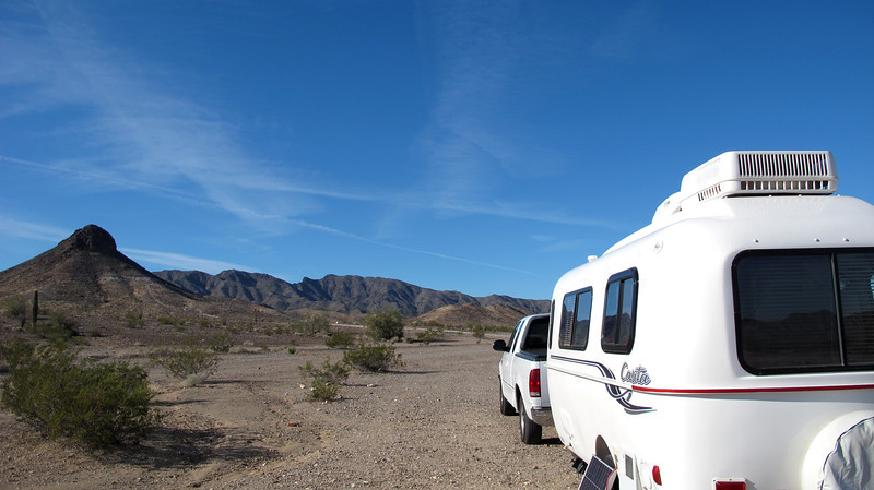 BLM land = free camping with terrific scenery