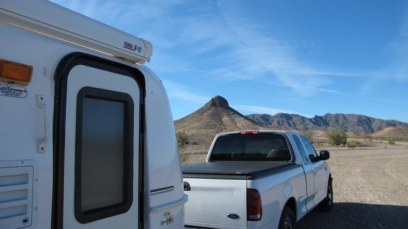 Dome Rock, west of Quartzsite AZ.