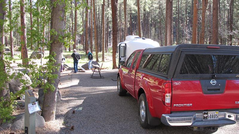 Alan's campsite