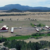 View of Sipe White Mountain Wildlife Area ranch from above.