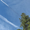 Lots of contrails that day.