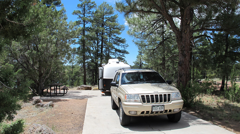 CSJim's campsite #6, Fool Hollow Lake.