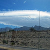 Shot this weird cloud hovering over the Santa Catalina mountains and Catalina State Park. Unfortunately, when you're towing, there are even fewer opportunities to pull over to take a decent pic. Regretably, this one was through my windshield.