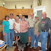 At Jeff's beautiful new home in Payson: Jodi, Dale, Alice, Jim, Lynn, Jeff, Konrad, Jim