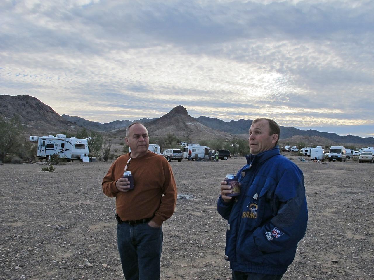 Brothers Alan and Doug Knudson.