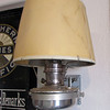<center>This kerosene lamp was used for a caboose -- both are now all but extinct!          </center>