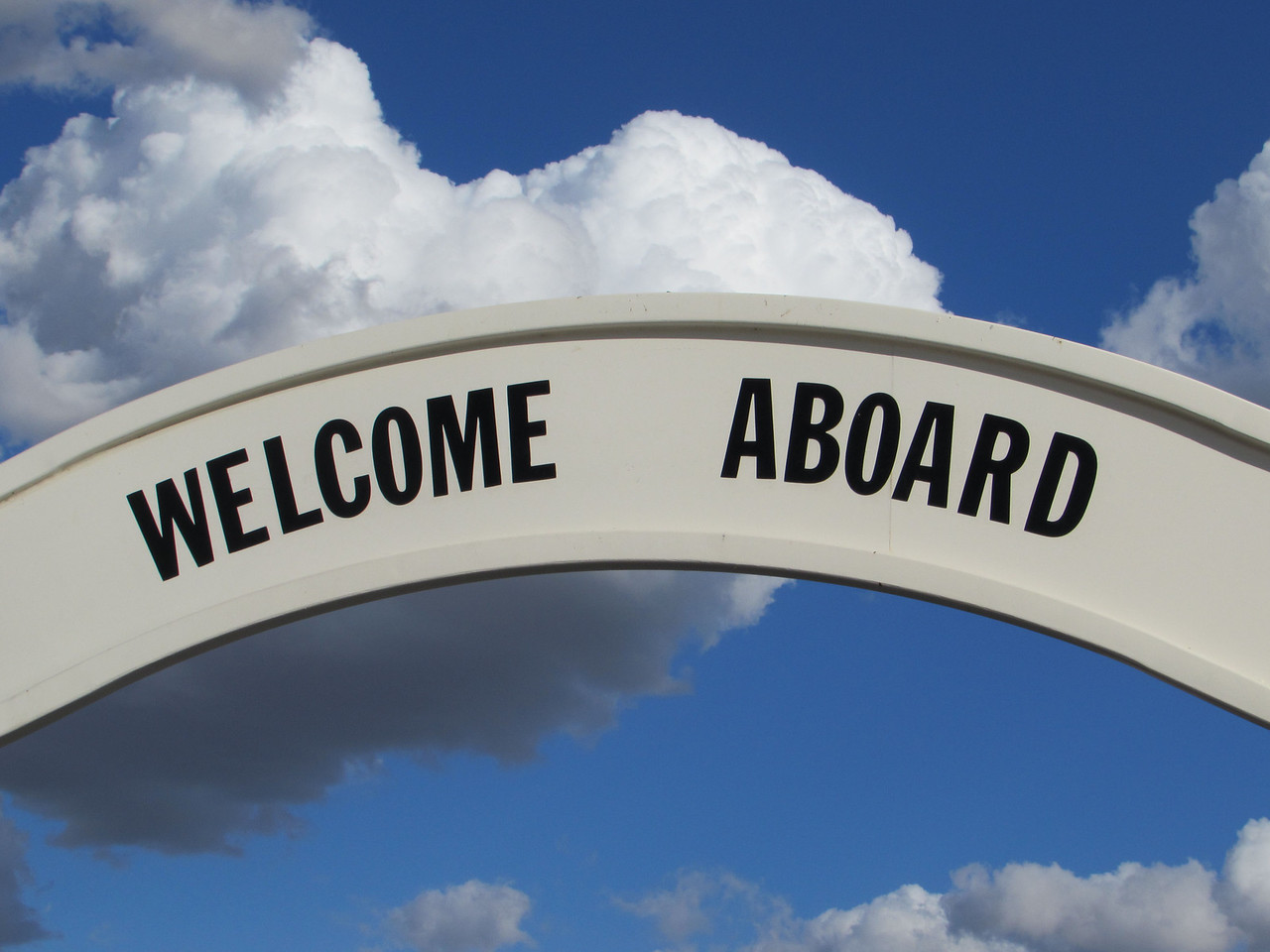 <i>Welcome Aboard.....and Anchors Aweigh!</i>