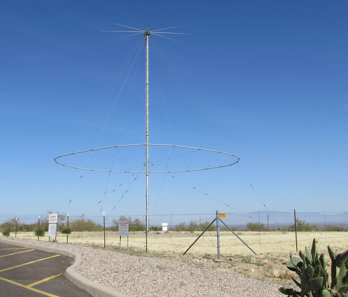 "This antenna was used at the site for many years and is now available for use by amateur radio operators.  The Green Valley Amateur Radio Club has played a key role in making the antenna accessible to ""hams,"" who'd like to operate it on the 20-meter band."