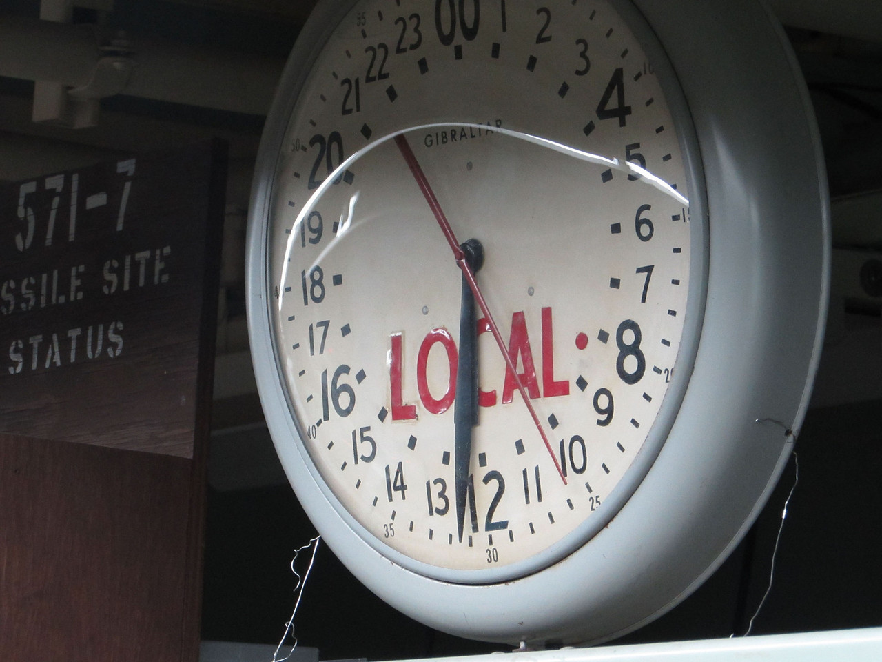 "These ""launch clocks"" played a vital role in the operations at a Titan Missile site."