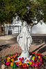 The Virgin Mary statue at the Immaculate Conception Church in Ajo, Arizona, USA.