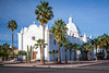 The Immaculate Conception Church in Ajo, Arizona, USA.