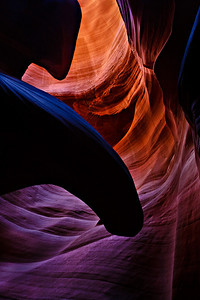 Vortex Page area slot canyon